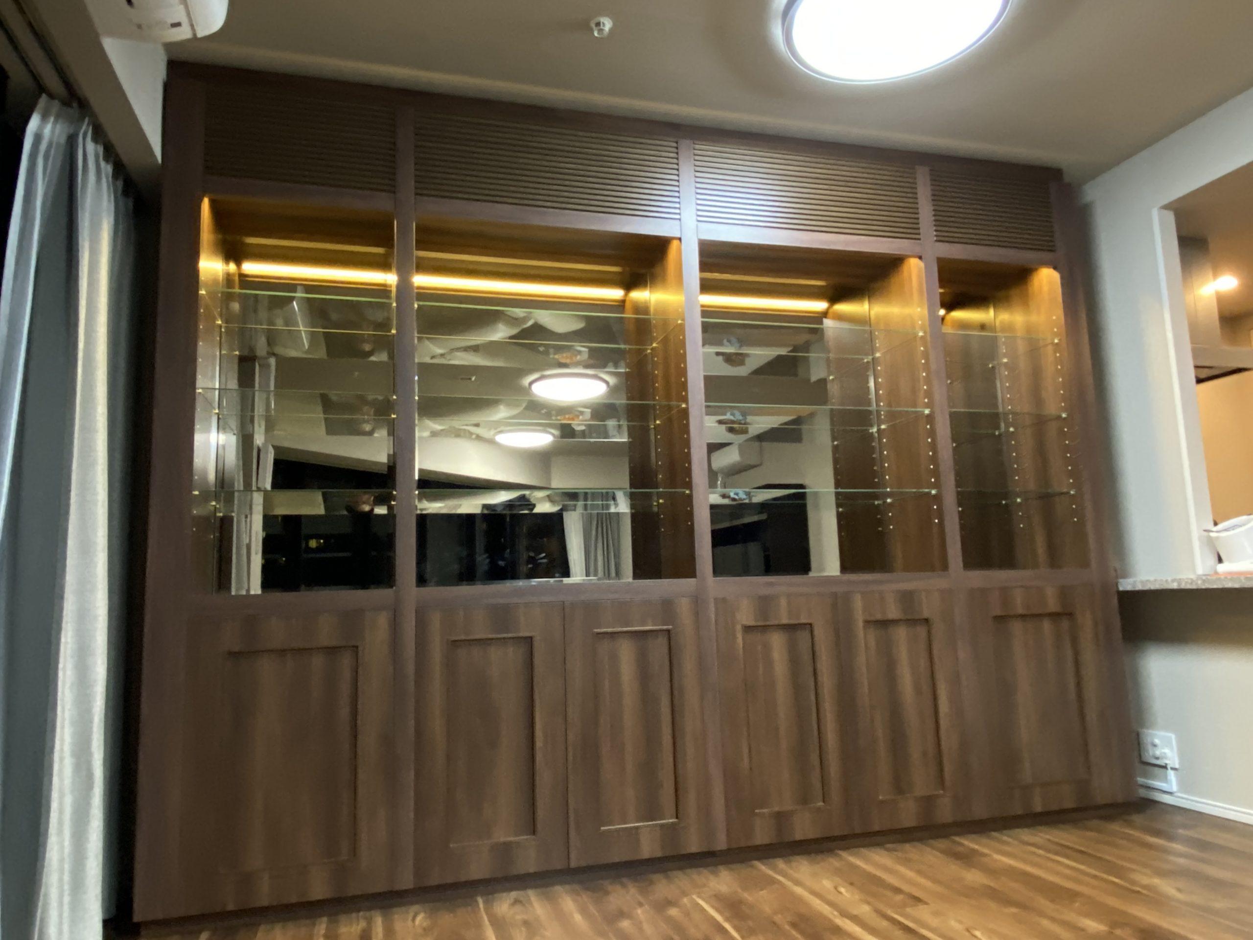 壁収納棚・飾り棚の家具
